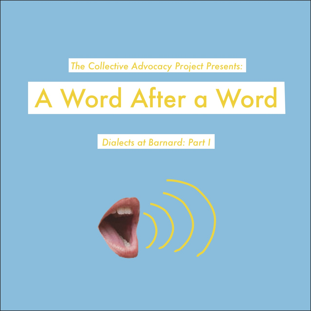 a word after a word cover